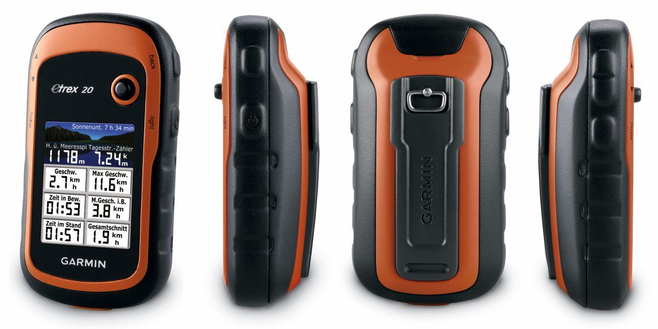 Garmin eTrex 20 vs 30 GPS Navigator