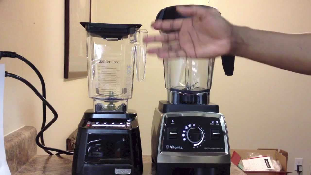 Total Blender vs Vitamix 5200