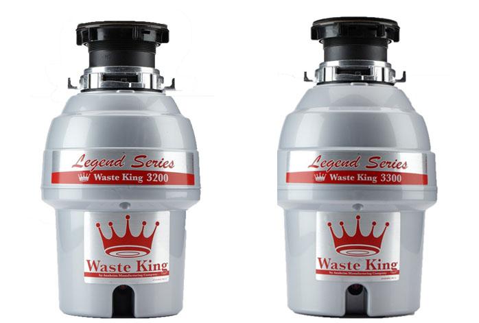 Waste King 3200 Vs 3300