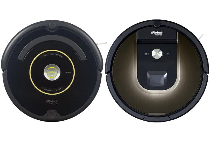 iRobot 650 Vs 980