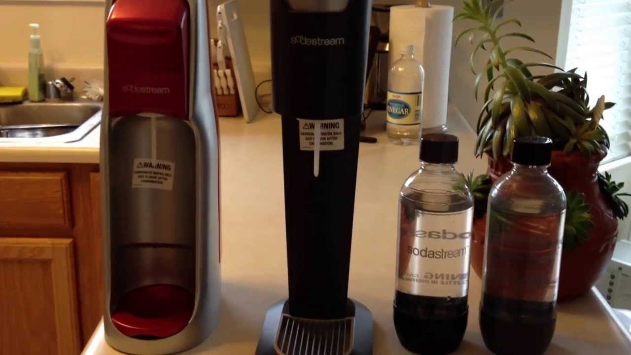 Sodastream Fountain Jet vs Genesis