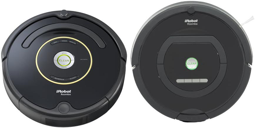iRobot Roomba 650 Vs 770