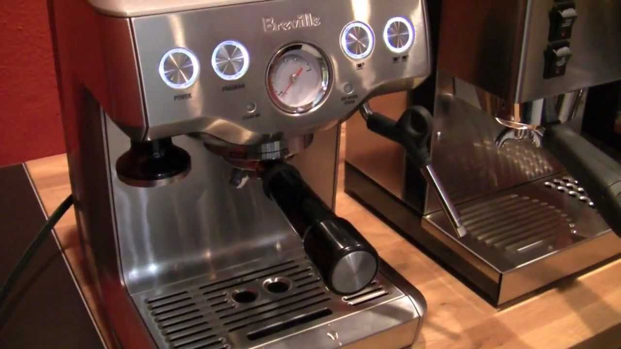 Breville BES870XL Vs Rancilio Silvia