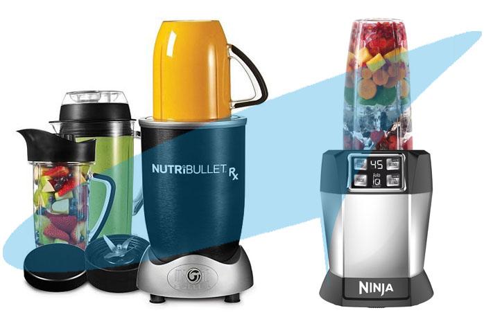 Nutri Ninja Auto iQ Vs NutriBullet RX