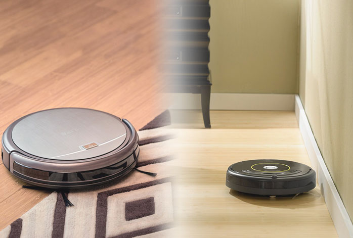 ILIFE A4 Vs iRobot Roomba 650
