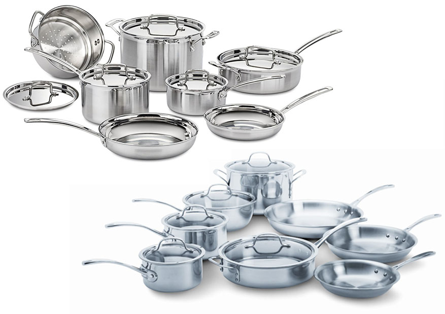 So What Is The Difference Between Cuisinart Multiclad Pro Vs Calphalon Tri Ply Interestingly There Are Several Notable Differences That May Affect Your