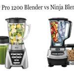 Oster Pro 1200 Blender vs Ninja Blender